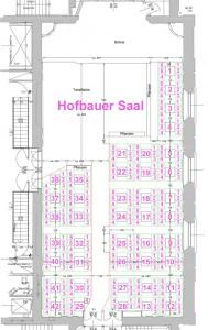 Hofbauer Saal Plan